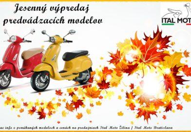 Jesenný výpredaj
